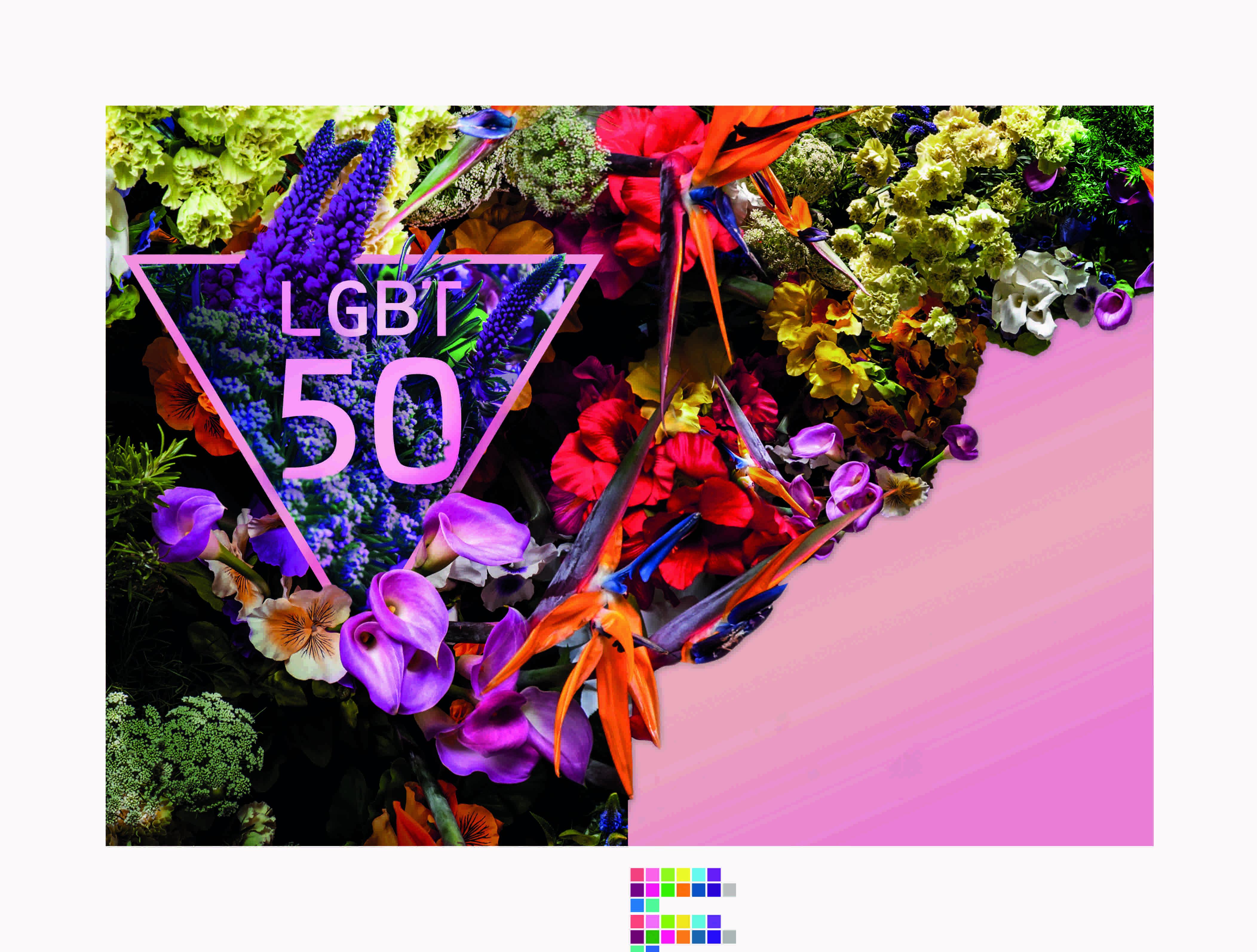 LGBT50 Logo