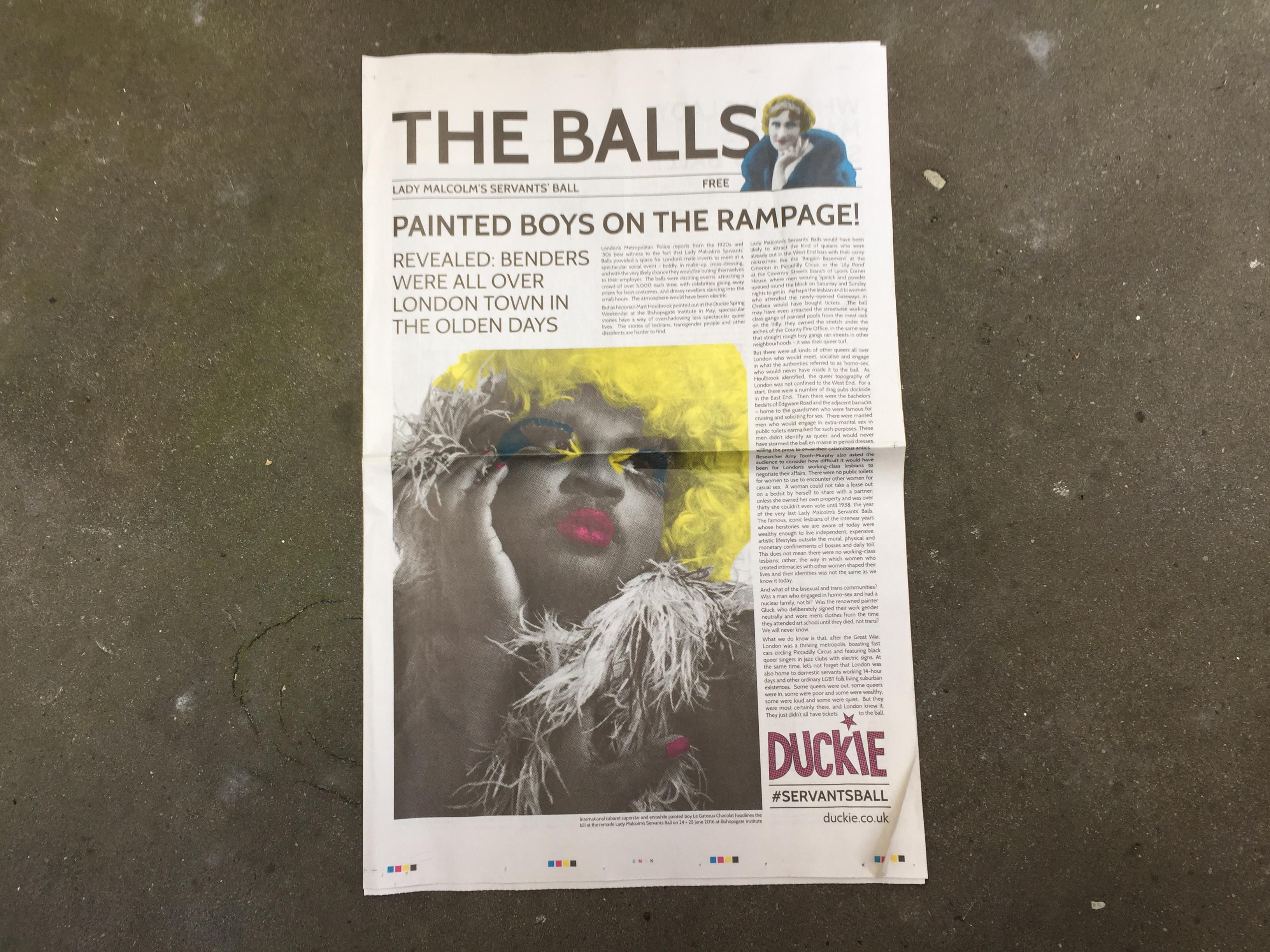 The Balls Newspaper